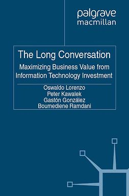 González, Gastón - The Long Conversation, ebook