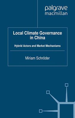 Schröder, Miriam - Local Climate Governance in China, ebook