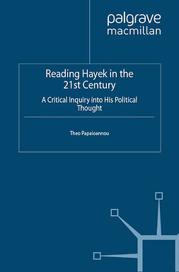 Papaioannou, Theo - Reading Hayek in the 21st Century, ebook