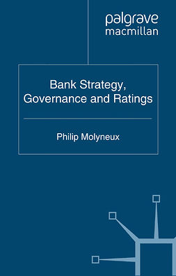 Molyneux, Philip - Bank Strategy, Governance and Ratings, e-bok
