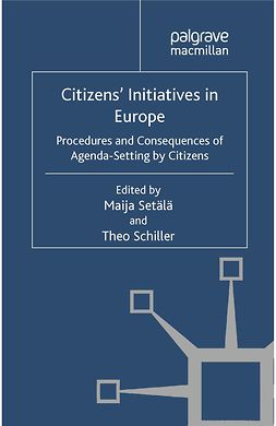 Schiller, Theo - Citizens' Initiatives in Europe, ebook