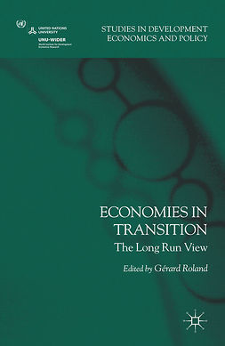 Roland, Gérard - Economies in Transition, e-bok