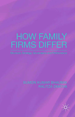 Bhaumik, Sumon Kumar - How Family Firms Differ, ebook