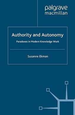 Ekman, Susanne - Authority and Autonomy, ebook