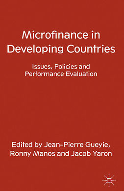 Gueyie, Jean-Pierre - Microfinance in Developing Countries, ebook