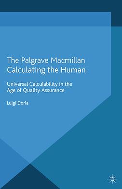 Doria, Luigi - Calculating the Human, ebook