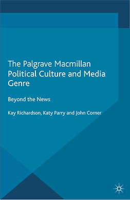 Corner, John - Political Culture and Media Genre, e-kirja