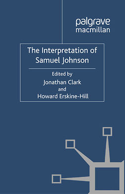 Clark, Jonathan - The Interpretation of Samuel Johnson, ebook