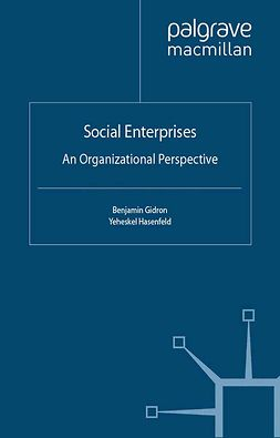 Gidron, Benjamin - Social Enterprises, ebook
