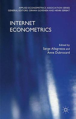 Allegrezza, Serge - Internet Econometrics, ebook