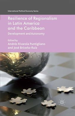 Briceño-Ruiz, José - Resilience of Regionalism in Latin America and the Caribbean, ebook