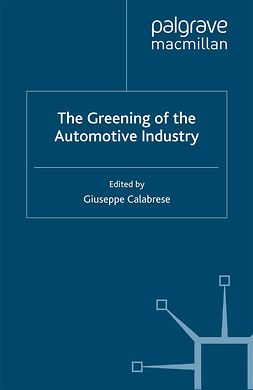 Calabrese, Giuseppe - The Greening of the Automotive Industry, ebook