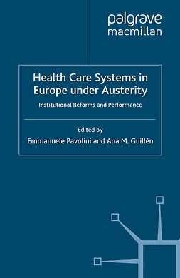 Guillén, Ana M. - Health Care Systems in Europe under Austerity, e-bok
