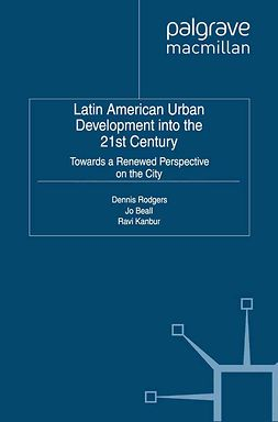 Beall, Jo - Latin American Urban Development into the 21st Century, ebook