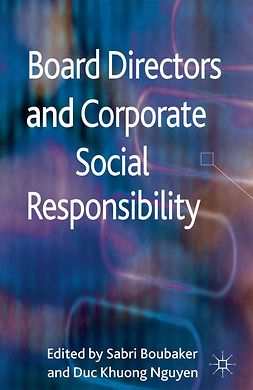 Boubaker, Sabri - Board Directors and Corporate Social Responsibility, e-kirja