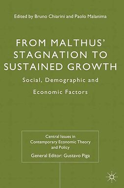 Chiarini, Bruno - From Malthus' Stagnation to Sustained Growth, ebook