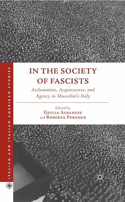 Albanese, Giulia - In the Society of Fascists, ebook