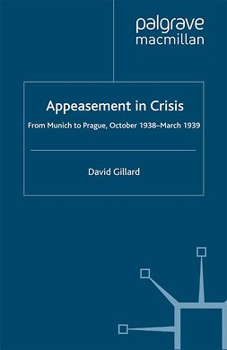 Gillard, David - Appeasement in Crisis, ebook