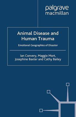 Bailey, Cathy - Animal Disease and Human Trauma, ebook