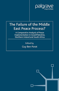 Ben-Porat, Guy - The Failure of the Middle East Peace Process?, ebook