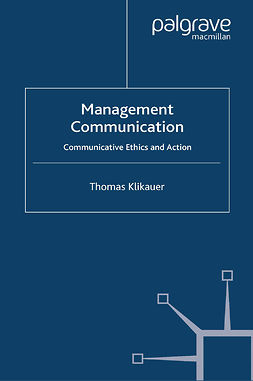 Klikauer, Thomas - Management Communication, e-bok