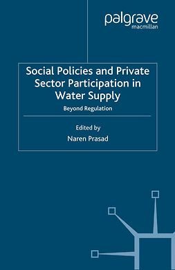 Prasad, Naren - Social Policies and Private Sector Participation in Water Supply, ebook