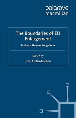 DeBardeleben, Joan - The Boundaries of EU Enlargement, ebook