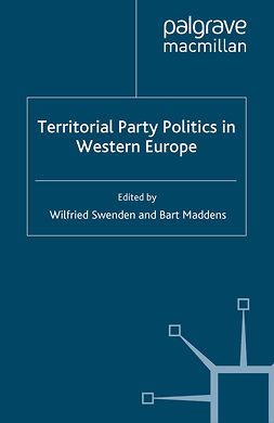 Maddens, Bart - Territorial Party Politics in Western Europe, ebook