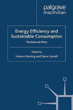 Herring, Horace - Energy Efficiency and Sustainable Consumption, ebook