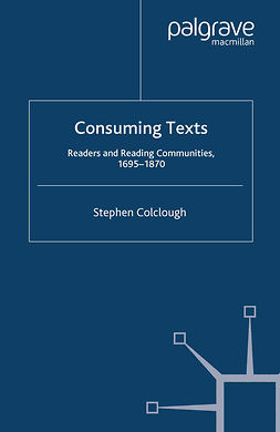 Colclough, Stephen - Consuming Texts, ebook