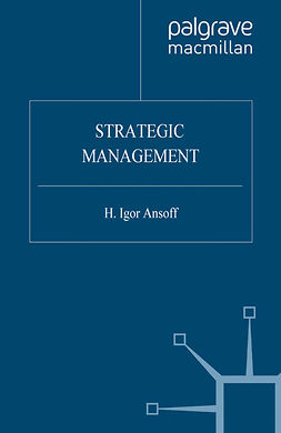 Ansoff, H. Igor - Strategic Management, ebook