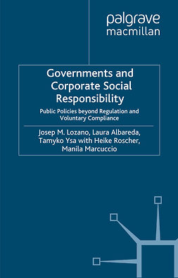 Albareda, Laura - Governments and Corporate Social Responsibility, ebook