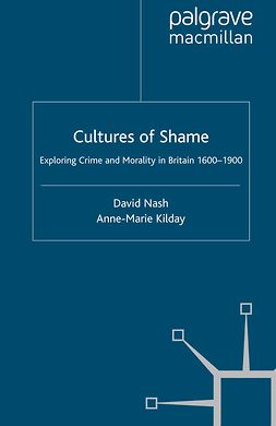 Kilday, Anne-Marie - Cultures of Shame, e-bok