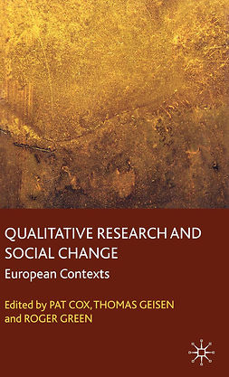 Cox, Pat - Qualitative Research and Social Change, e-bok