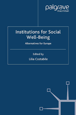 Costabile, Lilia - Institutions for Social Well-Being, e-bok