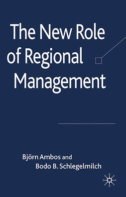 Ambos, Björn - The New Role of Regional Management, ebook