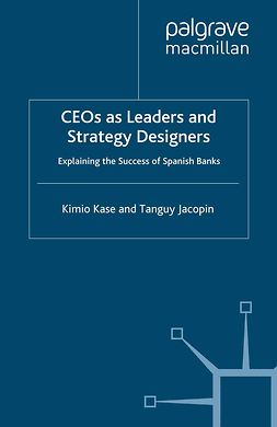 Jacopin, Tanguy - CEOs as Leaders and Strategy Designers, ebook