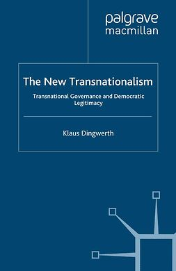 Dingwerth, Klaus - The New Transnationalism, ebook