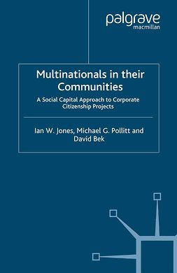 Bek, David - Multinationals in their Communities, ebook