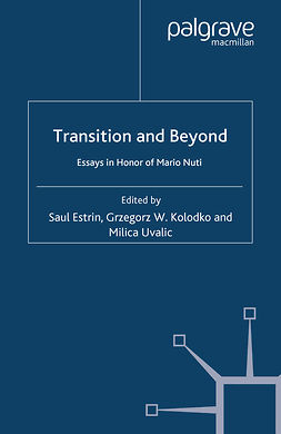 Estrin, Saul - Transition and Beyond, e-bok