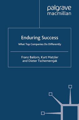 Bailom, Franz - Enduring Success, e-kirja