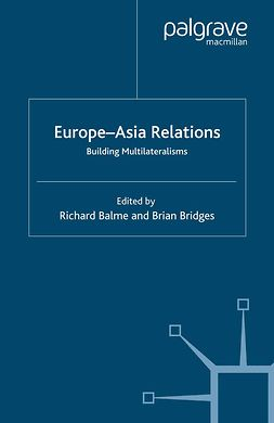 Balme, Richard - Europe—Asia Relations, ebook