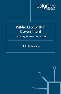 Rattenbury, T. P. B. - Public Law within Government, e-kirja
