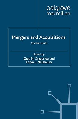 Gregoriou, Greg N. - Mergers and Acquisitions, ebook