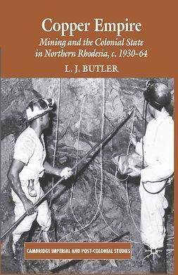 Butler, L. J. - Copper Empire, ebook