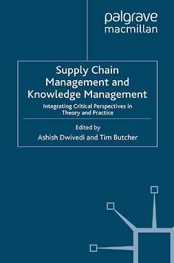 Butcher, Tim - Supply Chain Management and Knowledge Management, e-bok