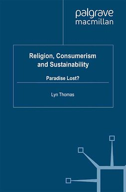 Thomas, Lyn - Religion, Consumerism and Sustainability, ebook