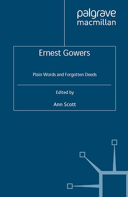Scott, Ann - Ernest Gowers, ebook