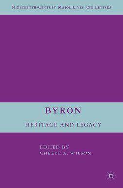 Wilson, Cheryl A. - Byron, ebook