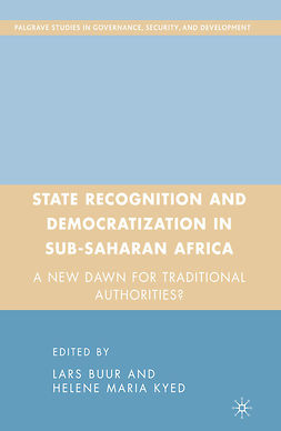 Buur, Lars - State Recognition and Democratization in Sub-Saharan Africa, e-kirja